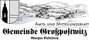 Amtsblatt Großpostwitz